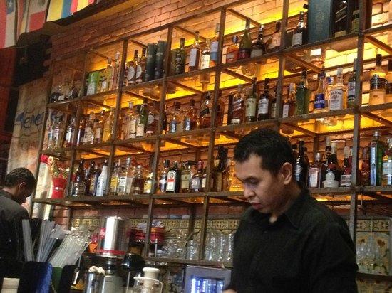 La Boca Latino Bar: The Bar