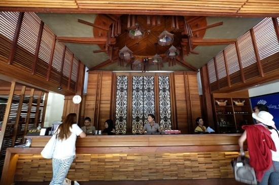 Railay Bay Resort & Spa : reception