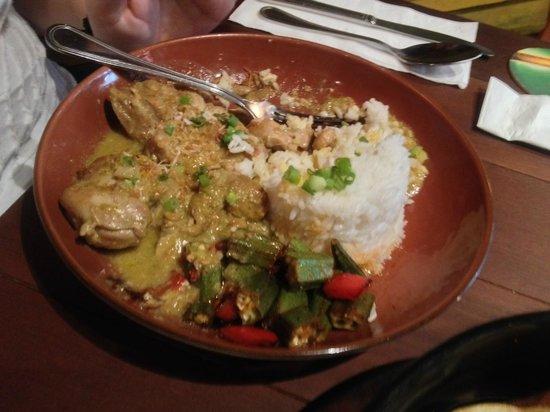 La Boca Latino Bar: Chicken specialty