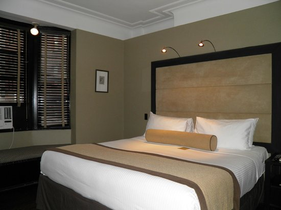 The Mansfield: Un lit confortable, mais une chambre bruyante