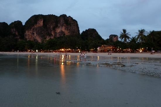 Railay Bay Resort & Spa: evening view
