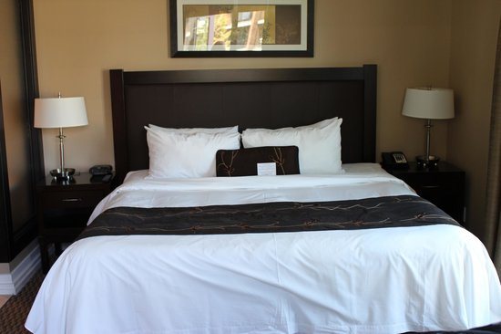 The Parkside Hotel & Spa : Bedroom