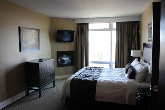 The Parkside Hotel & Spa : Bedroom