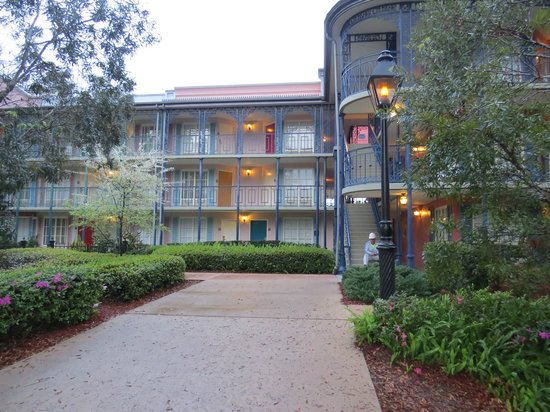 Disney's Port Orleans Resort - French Quarter : Building 1