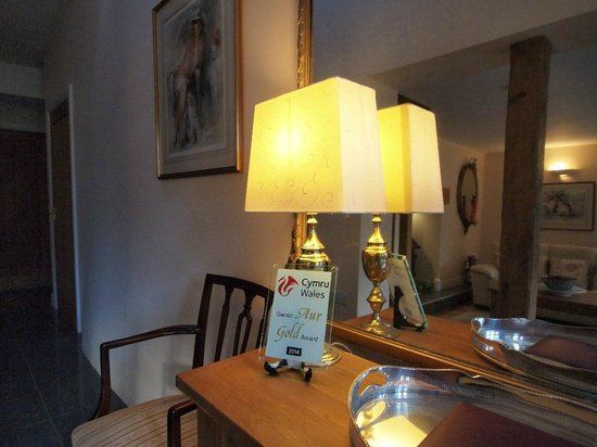 Pandy Isaf Country House Bed & Breakfast: Reception