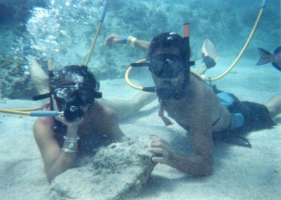 Ocean Adventures Bavaro Splash : 6 METROS ABAJO