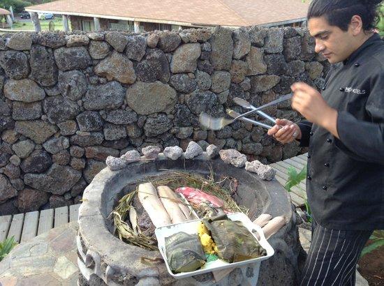 Hotel Hare Noi Rapa Nui: Curanto