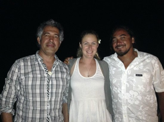 Hotel Hare Boutik : Con Joanna y Tito...un equipo