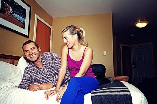 Marina West Motel: Comfortable bedding