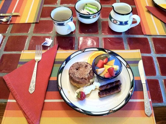 Dreamcatcher Bed & Breakfast: Magnificent breakfast