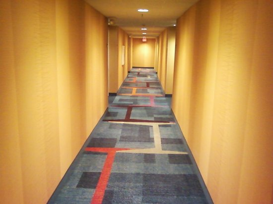 Fairfield Inn East Rutherford Meadowlands: Hallway
