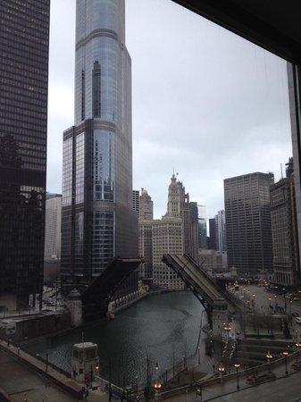Renaissance Chicago Downtown Hotel: Clear day in the Windy City!