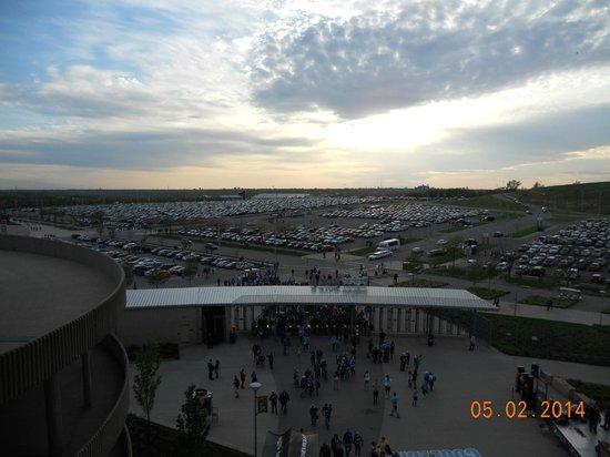 Kauffman Stadium : west parking lot