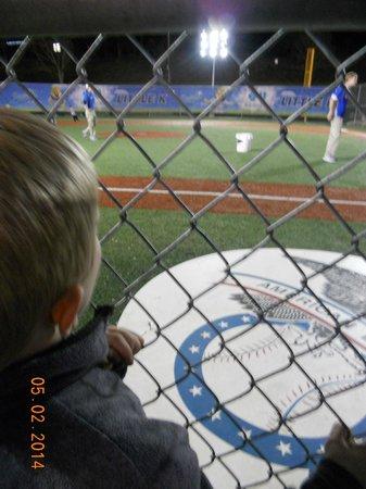 Kauffman Stadium : little slugger field