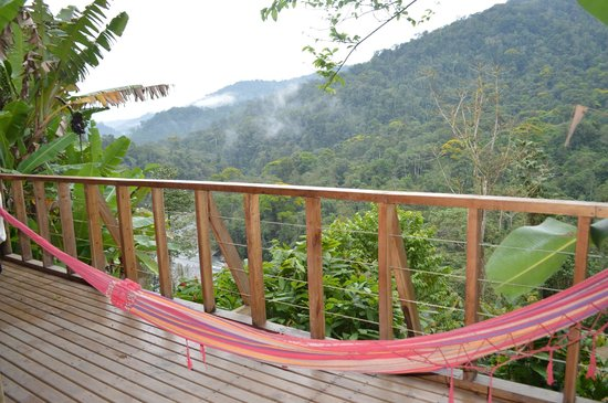 Pacuare Outdoor Center: view from a friend's balcony
