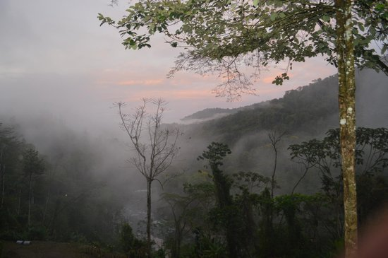 """Pacuare Outdoor Center: View from the """"hang out"""" area"""