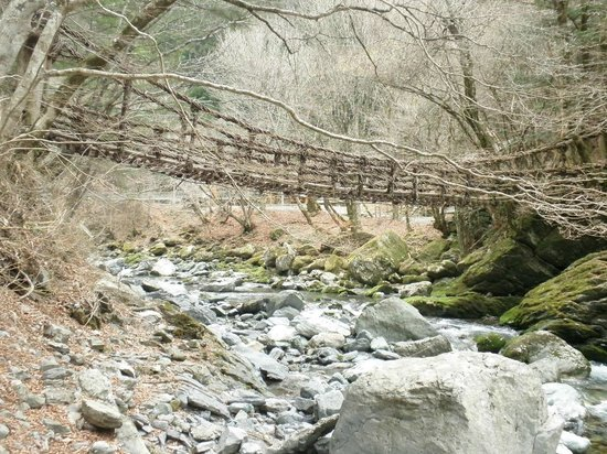 Okuiya Niju Kazurabashi Bridge : 女橋