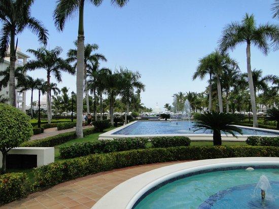 Hotel Riu Palace Punta Cana : Jardines amplísimos