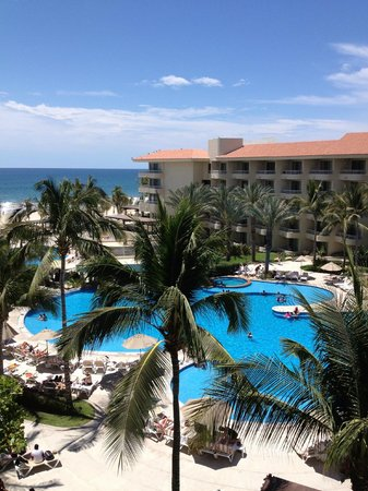 Barcelo Gran Faro Los Cabos : View from our room.
