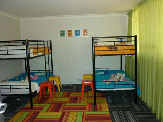 Paradise Resort Gold Coast: superior family room bunk beds