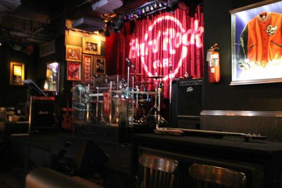 Hard Rock Cafe Pattaya: Band place