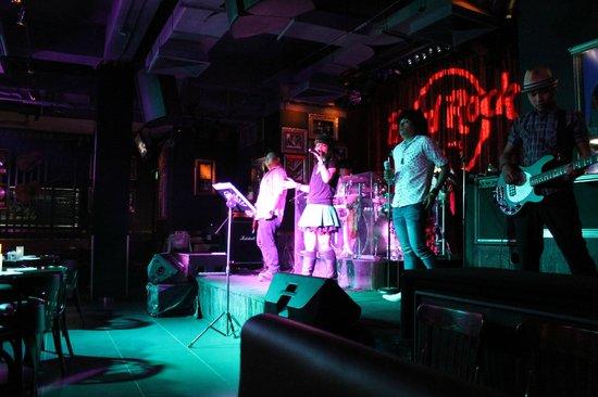 Hard Rock Cafe Pattaya: Band