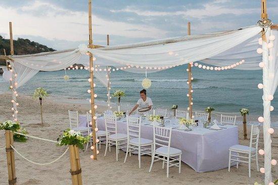 Melati Beach Resort & Spa : Reception on Beach