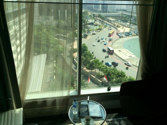 Hotel Indonesia Kempinski: View from the room