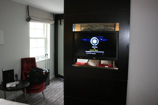 DoubleTree by Hilton London Greenwich : recamara