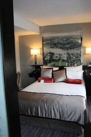 DoubleTree by Hilton London Greenwich : cama