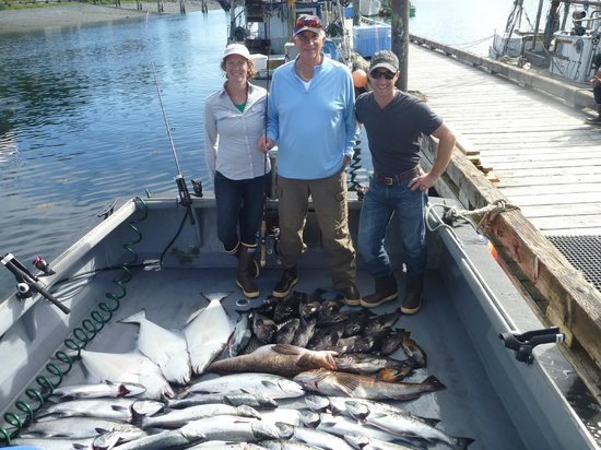Port Alexander, AK: Average great catch