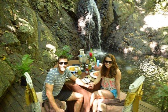 Namale Resort & Spa: Waterfall Lunch- Must do!