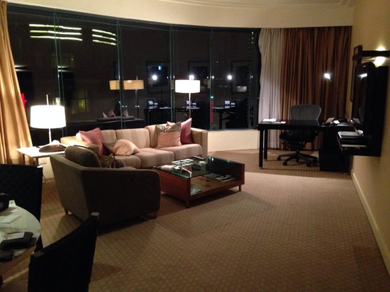 The Westin Kuala Lumpur: Living Area of the Suite