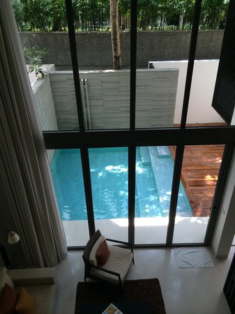 Twinpalms Phuket : Duplex suite with good shade