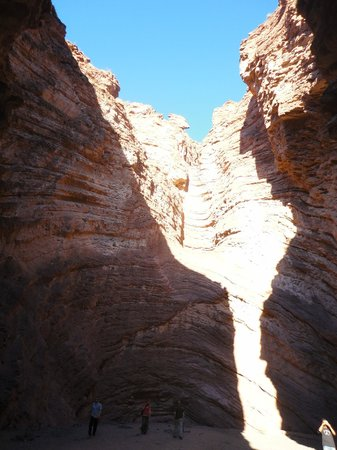 Quebrada del Rio de las Conchas: Anfiteatro