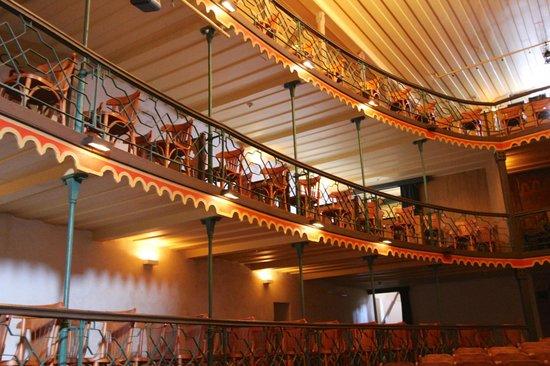 Teatro Municipal: balcões laterais
