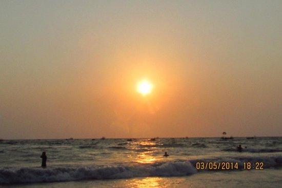 View From BAGA Beach