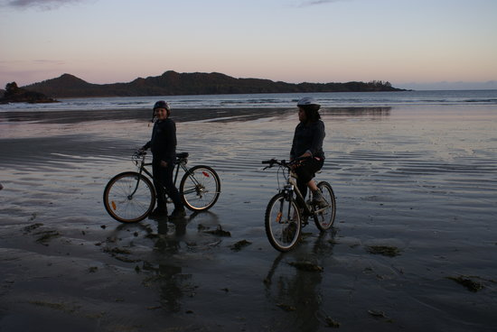 BriMar Bed and Breakfast: Rent Bikes for the evening Beach Ride