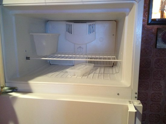 Hillcrest Lodge: Even the freezer was spotless!!!