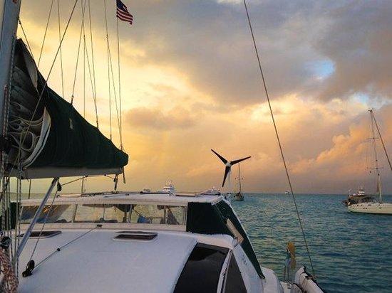 Makana Charters Sunset Dinner Sails: Every night, a spectacular sunset