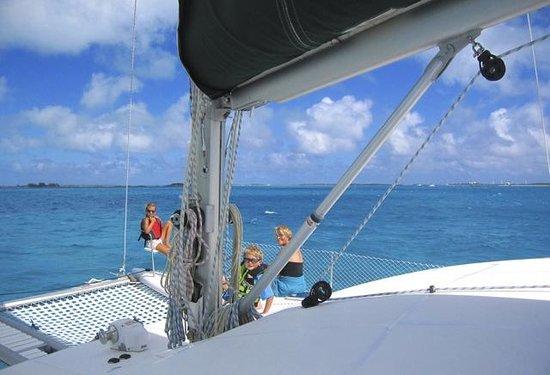 Makana Charters Sunset Dinner Sails: Sailing the Exumas