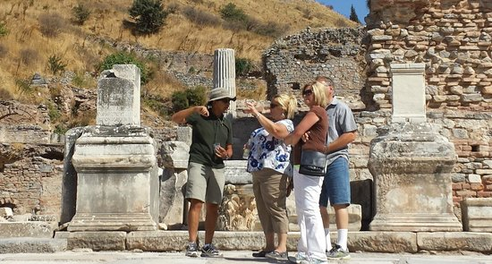 Ephesus Travel Guide - Private Ephesus Tours: Dennis, 2 Debs and Dan