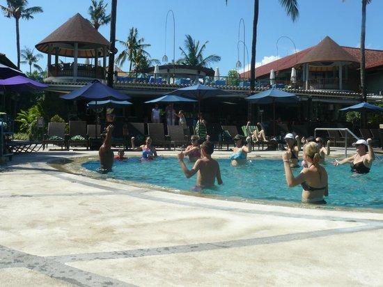 Bali Dynasty Resort : Aqua Aerobics