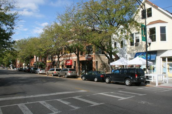 Roscoe Village Guesthouse: Roscoe Village , cafes, boutiques, restaurants and bars