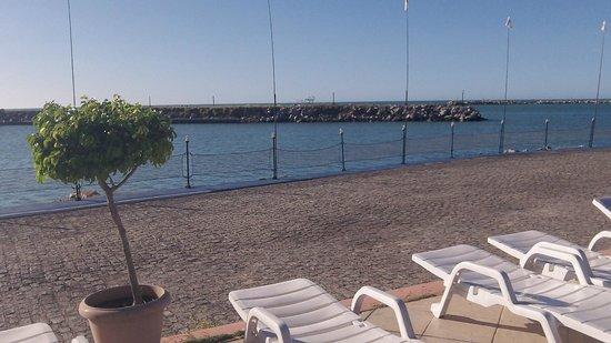 Marina Park Hotel : mar