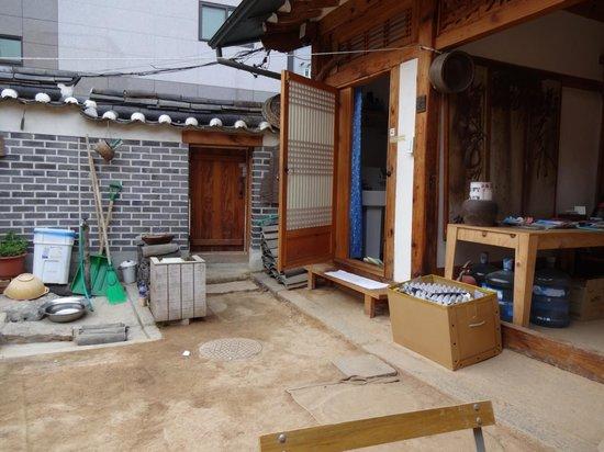 Namhyundang Guesthouse: courtyard