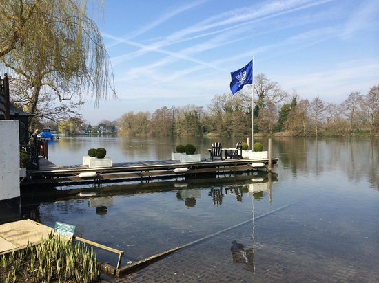 Waterside Inn: A glorious spring afternoon