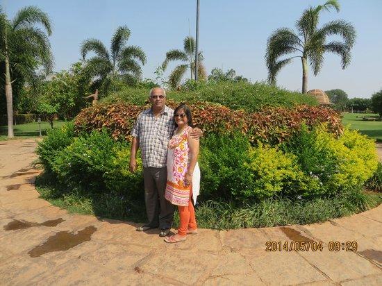 Vijayshree Resort & Heritage Village: the lush greenery