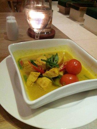 Salza Resto : delicious chicken curry