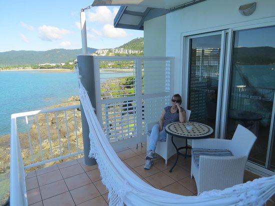Coral Sea Resort: Room 226's balcony